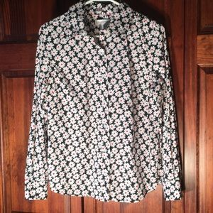 Isaac Mizrahi Size Medium long sleeve shirt